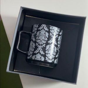 NEW! black decorative mug